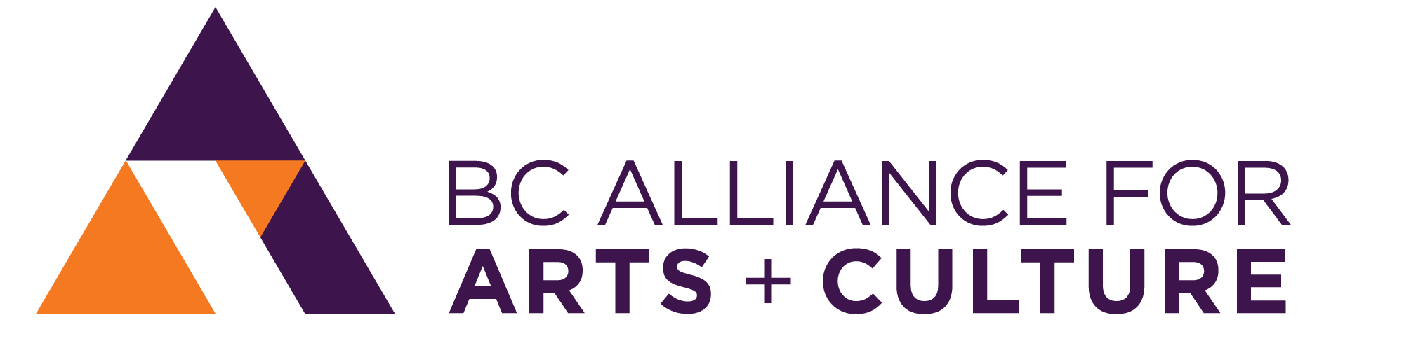 BC Alliance for Arts and Culture Logo
